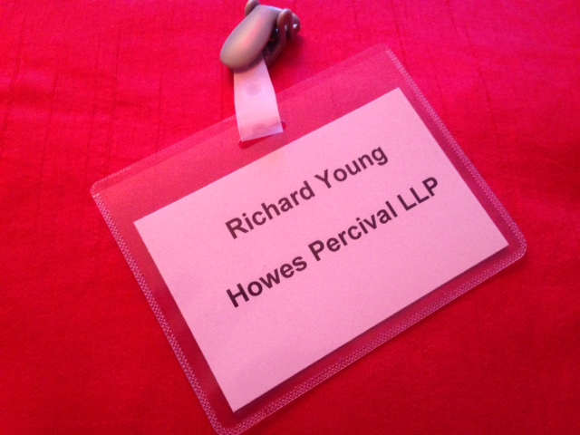 Milton Keynes Law Firm Howes Percival hired the magician Richard Young for the launch of their new office in Miton Keynes